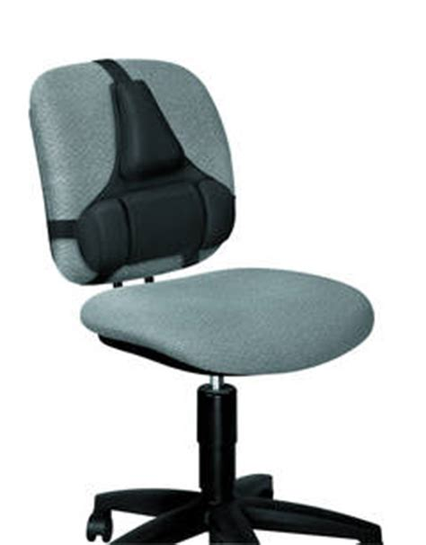 officemax office chairs with lumbar support fellowes professional series back support black by office