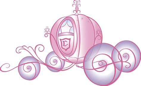 chambre carrosse sticker scintillant géant carrosse de princesse disney