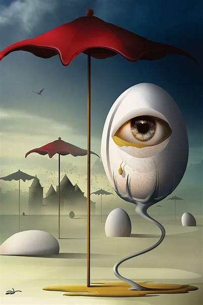 Dali Salvador Surrealism Painting Paintings Surreal Fine