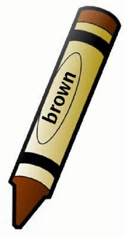 Brown Crayon Clipart Clipartpanda Terms