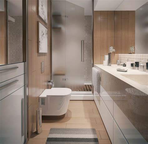 Bathroom Unit Design by Modern Minimalist Apartment Bathroom Interior Design With