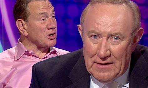 bbc news andrew neil mocks bbc bias  portillo complains  remainer guests uk news