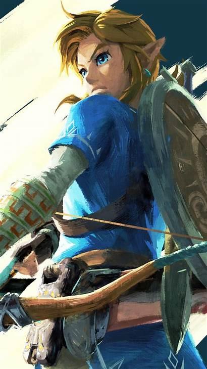 Zelda Breath Wild Legend Link Mobile Wallpapers