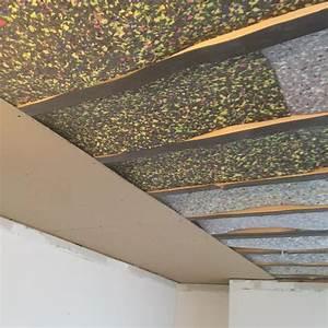Zvuková izolace stropu cena