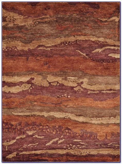 rust colored rug runner rugs home design ideas