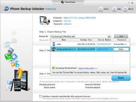 iphone unlocker iphone backup unlocker professional 3 3 free