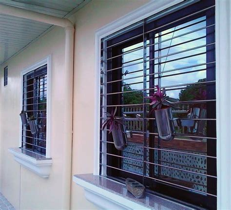 stainless window grills society glass gabriel builders