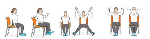 8 exercise moves you can do in your chair diabetes forecast 174