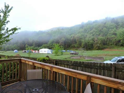 raccoon mountain cabins view from cabin 9 picture of raccoon mountain rv park