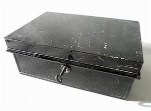 Vintage Black Pilot Made in England Metal Cash Money Deed