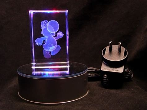yoshi super mario bros 240v plug in child night light ebay