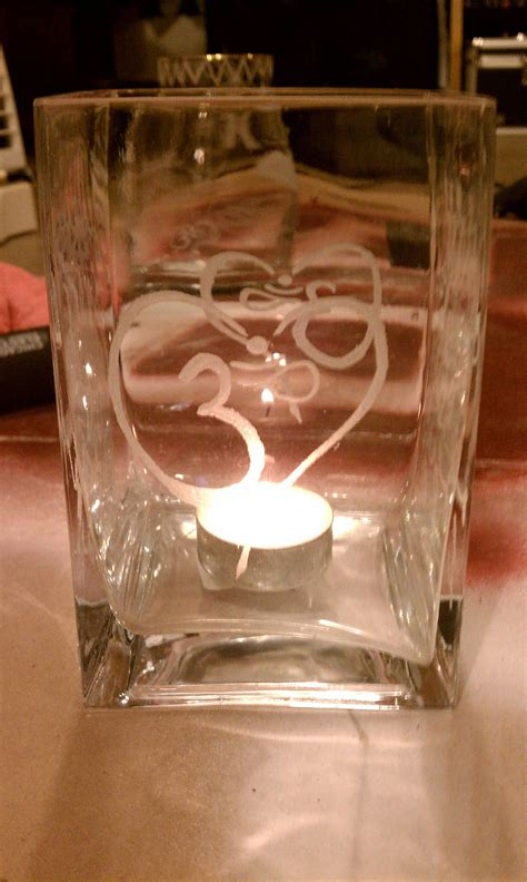 etched glass freehand   dremel tool dremel crafts