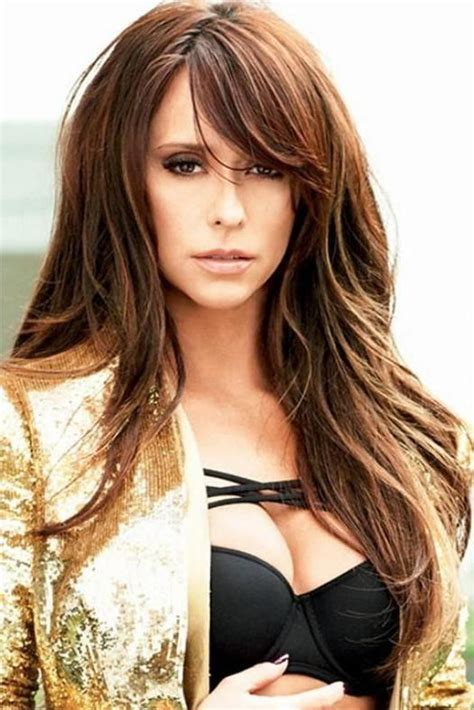 haircuts with layers and side bangs photo gallery of hair with layers and side swept