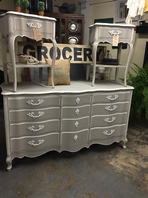 Provincial Bedroom Furniture by Gorgeous Provincial Set Redone Using Rethunk Junk