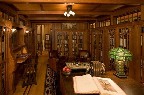 hidden bungalow  gatehouse craftsman home office