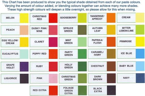 food coloring paste mccormick food color chart drops spectral paste food