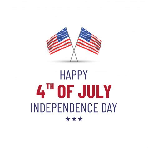 Anpc international a peaceful nation for private nationals.the authentication number as well as a qr code that has the nation charter, full international. Premium Vector | Happy 4th of july. usa independence day ...