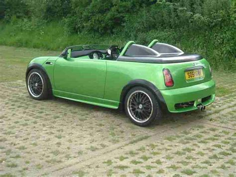 Mini Custom One Off Speedster Project Show Car Roof Chop
