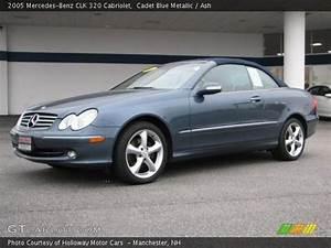 Mercedes Clk 320 Cabriolet : cadet blue metallic 2005 mercedes benz clk 320 cabriolet ash interior ~ Melissatoandfro.com Idées de Décoration
