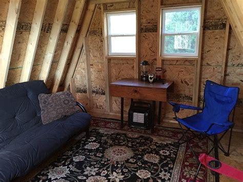 tiny  frame cabin plans  lamar alexander