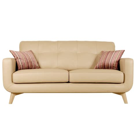 buy leather sofa online john lewis barbican medium leather sofa review compare