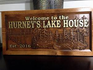 Personalized, Lake, House, Sign, Great, Lake, Home, Sign, Lake, Sign, Cabin, Sign, Or, Mountain, Home, Sign