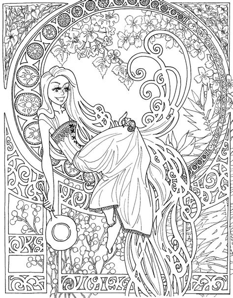 disney princess coloring book  page  coloring pages