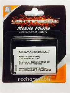 Lithium Battery Replacement Chart Nokia Bl5ct Bl 5ct Replacement Mobile Phone Battery Bl