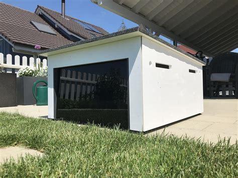 bausatz garage mähroboter kosten flachdach garage haus mit pultdach bauen satteldach und flachdach vergleich garagen in