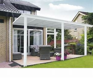 Toit Terrasse Aluminium : toit terrasse pergola 5x3 m en aluminium blanc abrirama ~ Edinachiropracticcenter.com Idées de Décoration