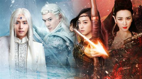 Ice Fantasy Huancheng Television Series Asian Oriental