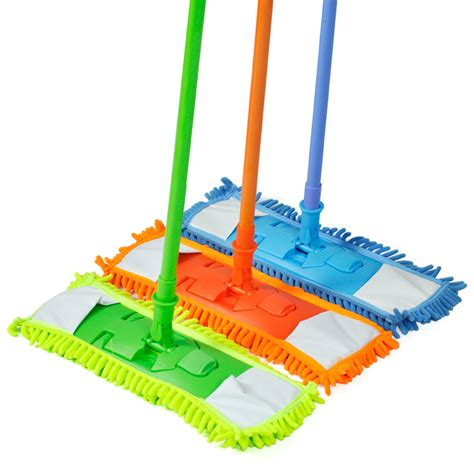 extendable microfibre floor mop cleaner sweeper wooden laminate tile ebay