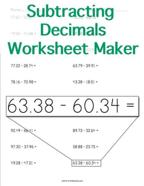 subtracting 9 and 11 worksheets subtraction