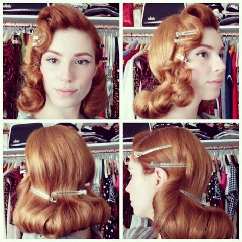 1950s Hairstyles Tutorial by 1940s 1950s Vintage Hairstyles Post Of Ideas The
