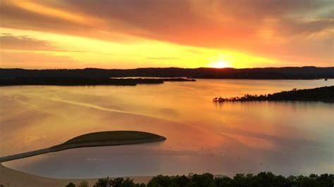 sunset  table rock lake branson mo john starnes