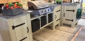 Evier D Exterieur Pour Jardin : une cuisine ext rieure en bois d chafaudage pour les makers ~ Premium-room.com Idées de Décoration