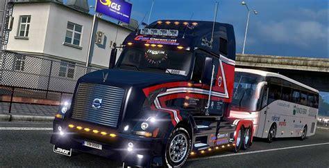 volvo vnl  cargo transporters skin mod american truck