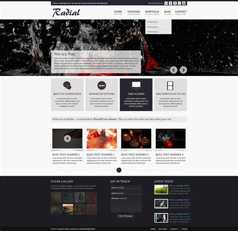 site template freebie radial web site template psd premiumcoding