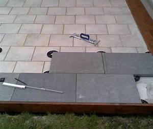 Terrasse Mit Granitplatten : plain white eine terrasse aus granitplatten auf stelzlagern ~ Sanjose-hotels-ca.com Haus und Dekorationen