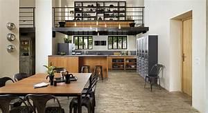 tendances cuisines 2017 photos maison travaux With nice idee couleur peinture salon 1 astuces pour bien choisir son carrelage travaux