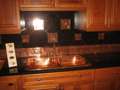 copper backsplash tiles for kitchen amusing black tin backsplash creative concepts inspiring