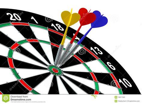 Darts stock illustration. Illustration of darts, concept ...