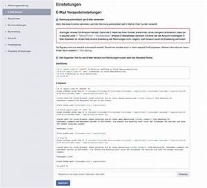 Rechnung Per E Mail : e mail betreff und e mail text easybill gmbh ~ Themetempest.com Abrechnung