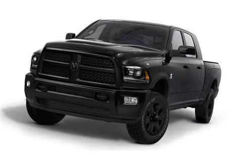 Ram 2500 Black Appearance Package by 2014 Ram 2500 Black Package 319312 Photo 1 Trucktrend