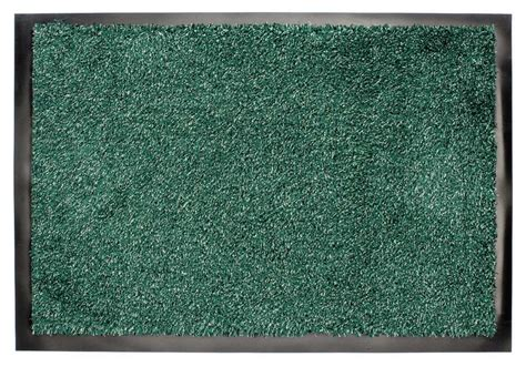 Green Doormat by Washamat Washable Anti Slip Back Doormat Hardwearing