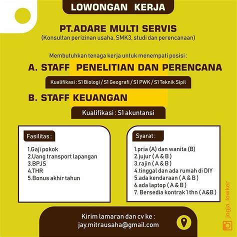 Explore tweets of ig : Kerja Di Trans Jogja : Lowongan Kerja Desain Grafis, Customer Service, Admin ... - Tidak hanya ...