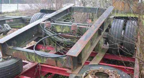 dolly achse gebraucht saf tieflader achse 13 to luftfeder 4x 235 nutzfahrzeuge angebote