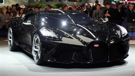 Bugatti La Voiture Noire Debuts: Most Expensive New Car Ever