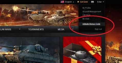 Bonus codes - Gameplay, world of, tanks official forum