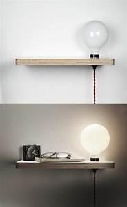 Table De Chevet Suspendue : installer une table de nuit suspendue pr s de son lit les avantages deco ~ Teatrodelosmanantiales.com Idées de Décoration